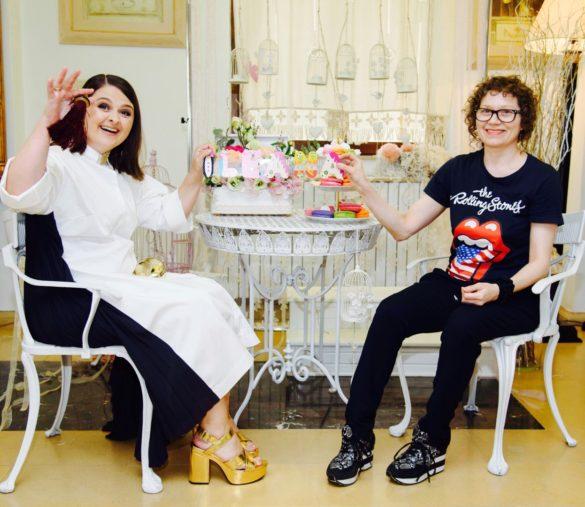 mama si designerul Wilhelmina Arz