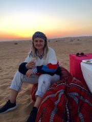 Apus în deșert