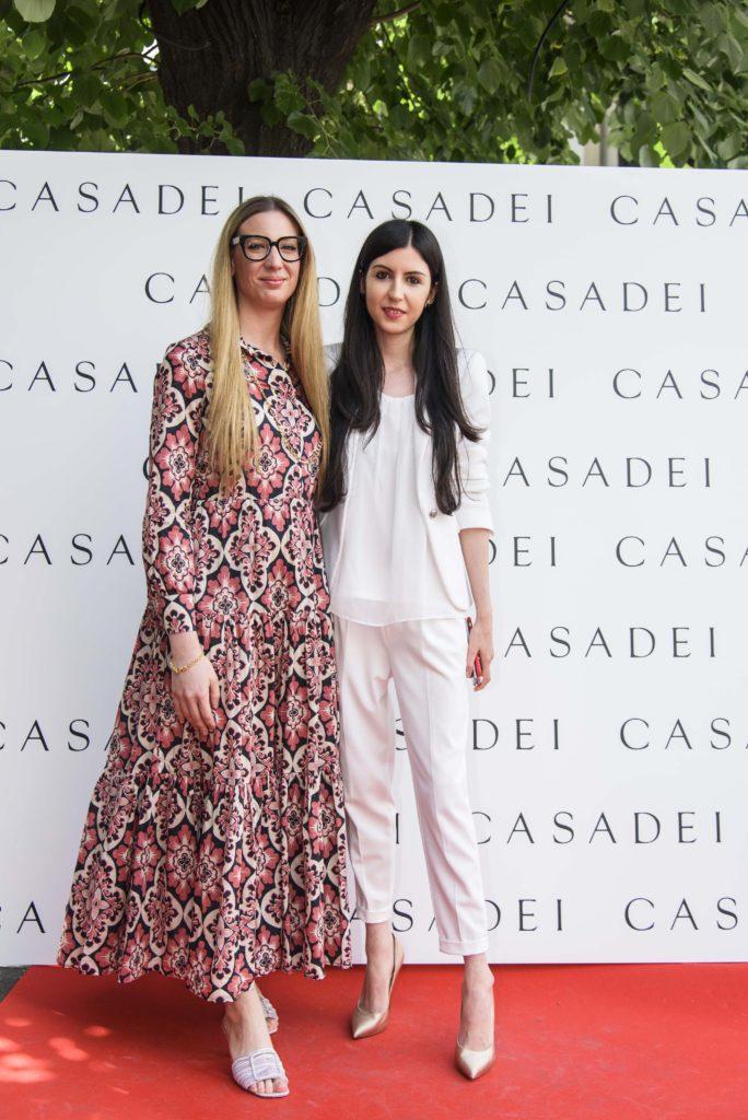 Arianna Casadei si Alexandra Cristea (Casadei Boutique PR)