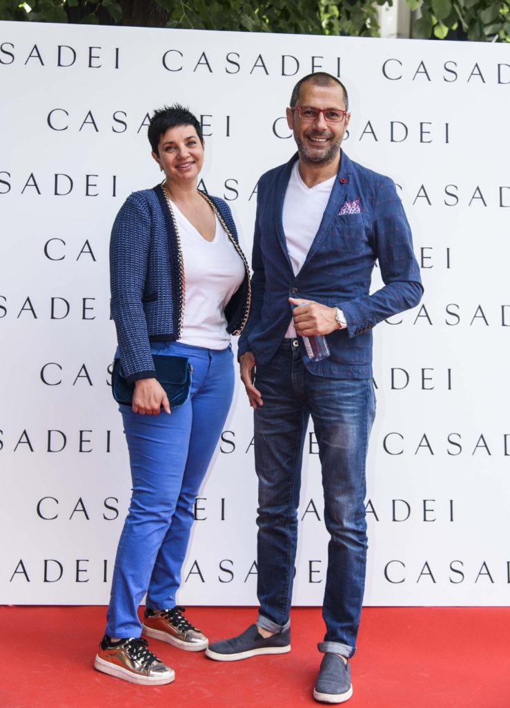 Barbara Lombardi si Andrei Nourescu