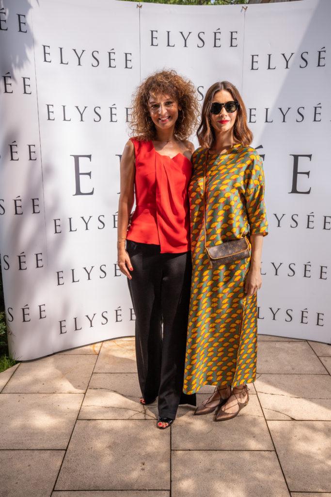 Cristina Balan (Elysee) si Andreea Berecleanu