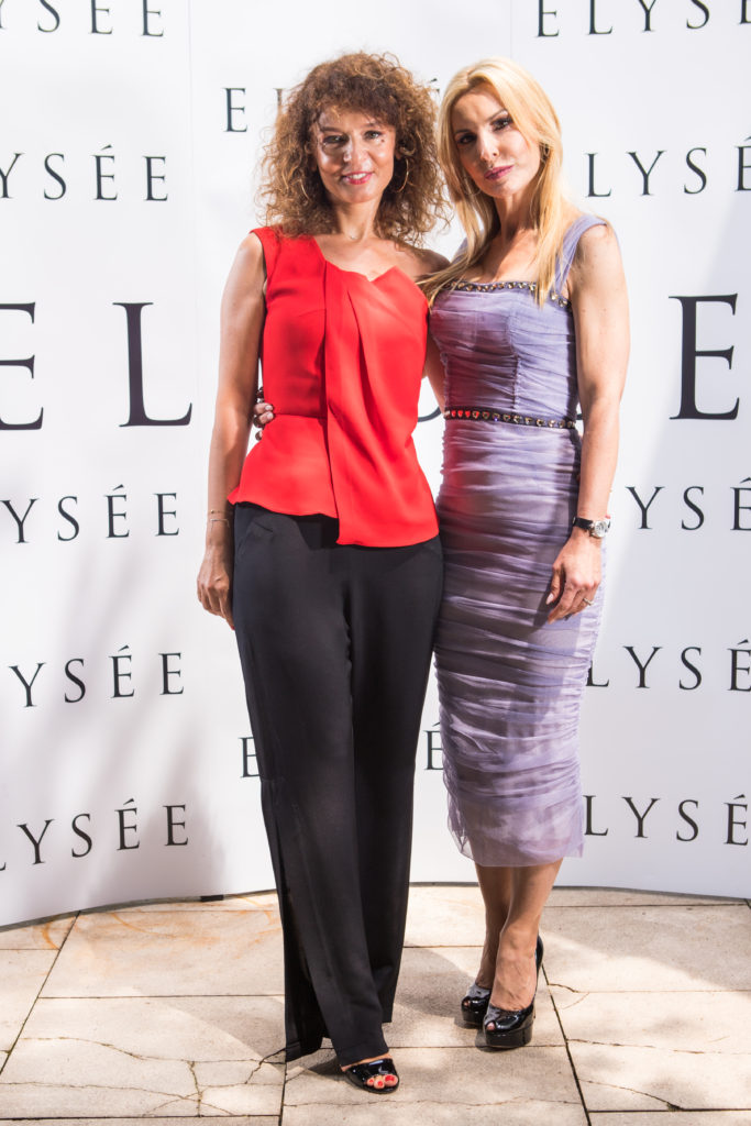 Cristina Balan (Elysee) si Nicole Mather (House of Sillage)