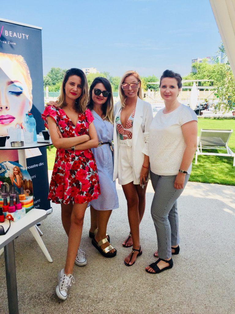 Luana Dăneț și echipa Xpert Beauty