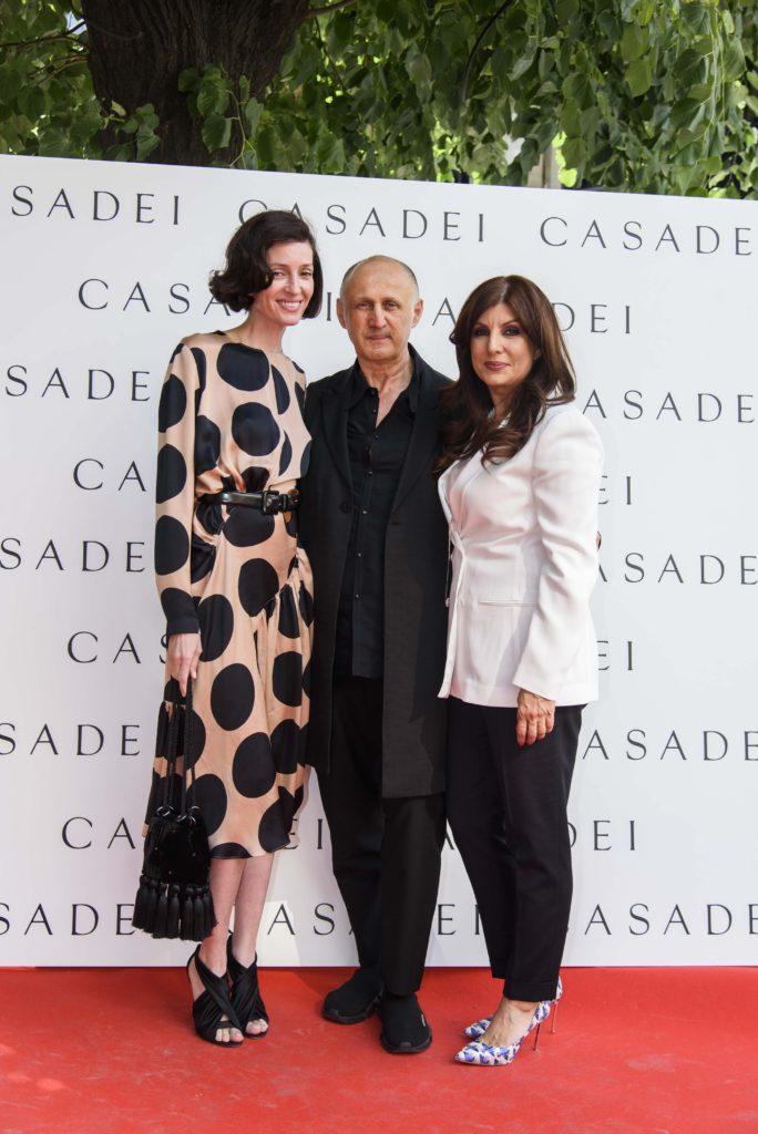 Monica Tand, Cesare Casdei si Carmen Seitan (Casadei Boutique)