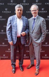 Mircea Lucescu si Paolo Canali