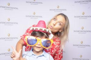 Adina Halas si fiul ei, Serghei