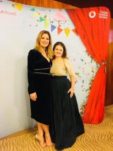 Alături de Amalia Enache