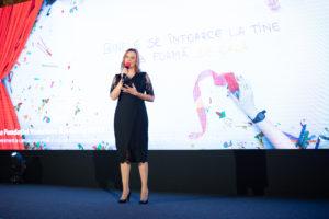 Angela Galeta (Presedinte Fundatia Vodafone)