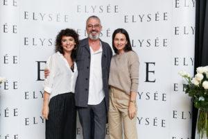 Cristina Balan (Elysee), Gerald Ghislain (Histoies de Parfums) si Roxana Voloseniuc (Elle)