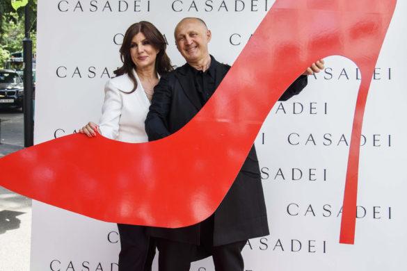 Caremen Seitan (Casadei Boutique) si Cesare Casadei